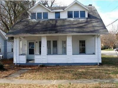 Hopewell Single Family Home For Sale: 324 Brown Avenue