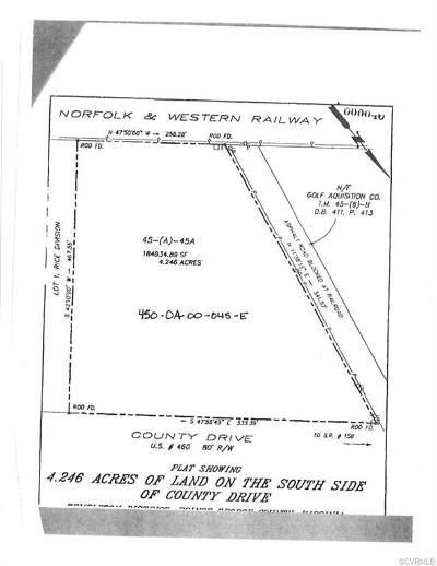 Land For Sale: 4.2456 Acres County County Drive