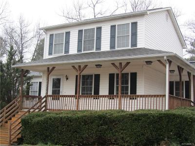 Dinwiddie County Single Family Home For Sale: 22712 Swan Circle