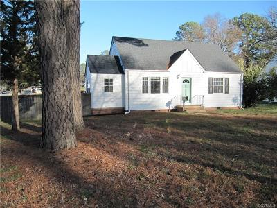 Richmond Single Family Home For Sale: 1331 Devers Road