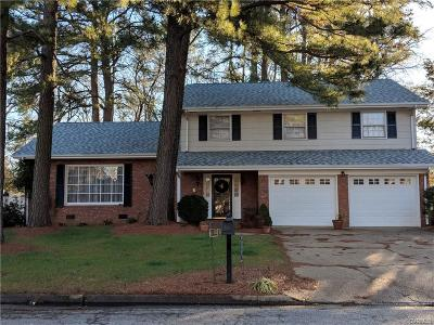 Hopewell Single Family Home For Sale: 809 Smithfield Avenue