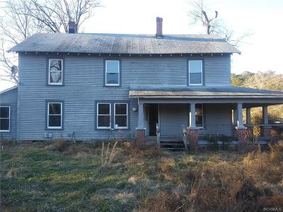 Sussex County Single Family Home For Sale: 4232 General Mahone Highway