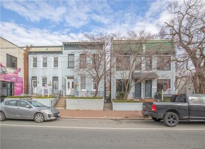 Richmond Commercial For Sale: 2606-12 & 2610 Rear W Cary Street