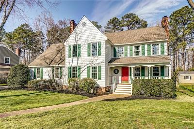 Henrico Single Family Home For Sale: 1504 Queens Point Drive