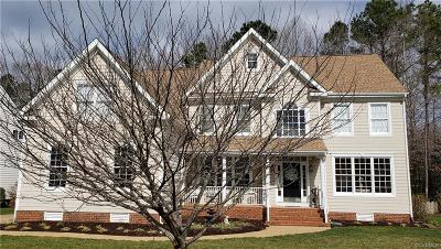Hanover County Single Family Home For Sale: 9535 Plateau Place