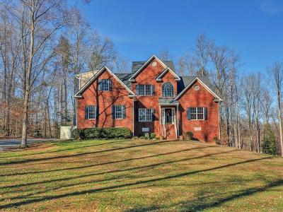 Powhatan VA Single Family Home For Sale: $599,000