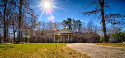 Petersburg Single Family Home For Sale: 20019 Oak River Court