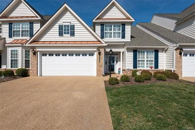 Hanover County Condo/Townhouse For Sale: 8108 Cool Summer Drive