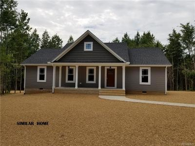 Amelia County Single Family Home For Sale: Tbd N Five Forks Road