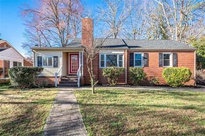 Henrico Single Family Home For Sale: 7605 Hillside Avenue