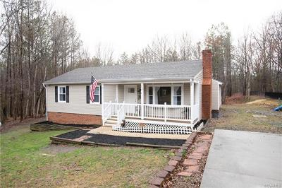 Powhatan County Single Family Home For Sale: 2860 Gaynel Drive