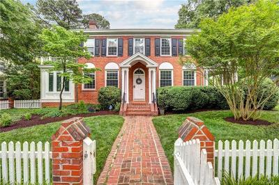 Richmond Single Family Home For Sale: 4601 Forest Hill Avenue