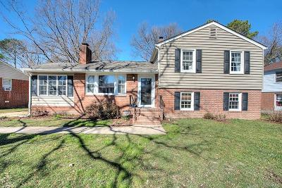 Henrico Single Family Home For Sale: 2206 Manlyn Road