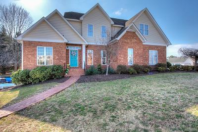 Mechanicsville Single Family Home For Sale: 6111 Havenview Drive