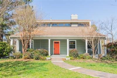 Richmond Single Family Home For Sale: 1602 Princeton Road