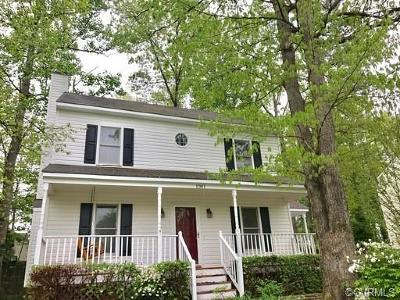 Chesterfield County Rental For Rent: 1901 Porters Mill Lane