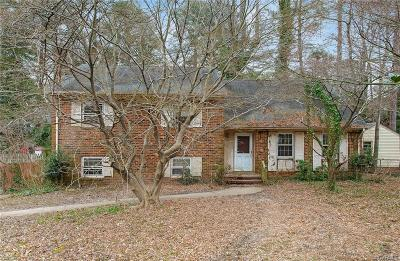 Henrico Single Family Home For Sale: 1205 Dinwiddie Avenue