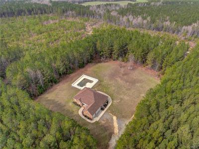 Single Family Home For Sale: 24049 Cabin Point Road