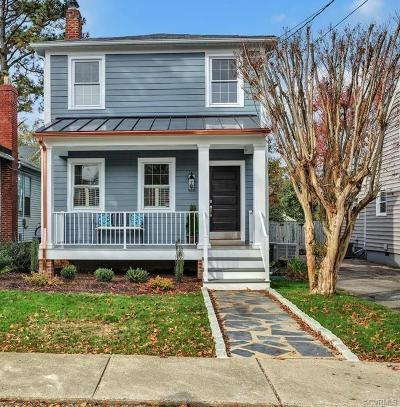 Richmond Single Family Home For Sale: 504 Maple Avenue