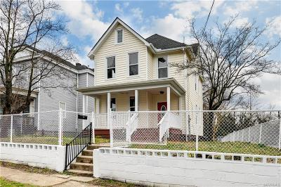 Richmond Single Family Home For Sale: 111 Yancey Street