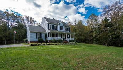 Hanover County Single Family Home For Sale: 15267 Teman Mill Road