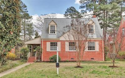 Richmond Single Family Home For Sale: 1509 Cedar Lane