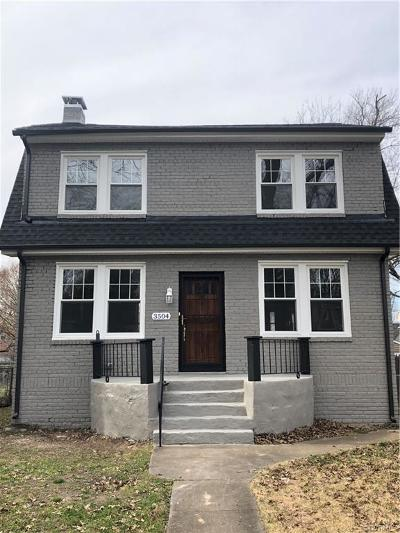 Richmond Single Family Home For Sale: 3504 Delaware Avenue