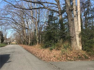 Chesterfield Land For Sale: 8418 Chelmford Road