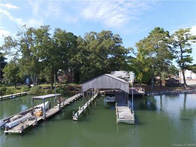 Deltaville Single Family Home For Sale: 79 Perry Lane