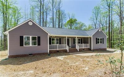 New Kent Single Family Home For Sale: 9018 Rock Cedar