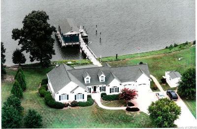 Heathsville Single Family Home For Sale: 197 Wicomico Harbor Drive