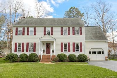 Henrico Single Family Home For Sale: 2021 Stoneheather Road