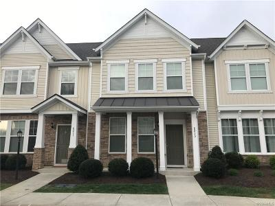 Hanover County Rental For Rent: 8213 Center Path Lane #8213
