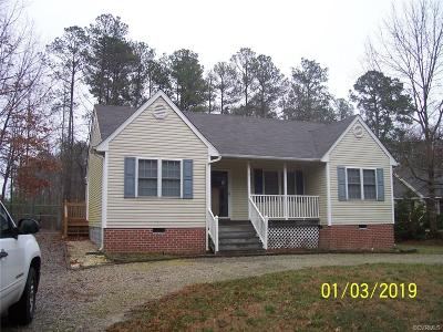 Petersburg Single Family Home For Sale: 6012 Springbank Road