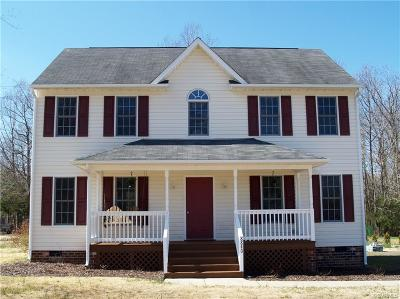 New Kent Single Family Home For Sale: 8840 Tunstall Road
