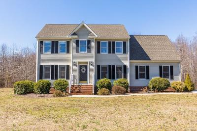 Hanover County Single Family Home For Sale: 15692 Saint Peters Church Road
