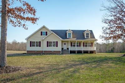 Dinwiddie County Single Family Home For Sale: 8117 Baltimore Road