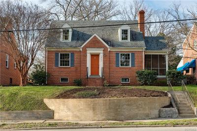 Richmond Single Family Home For Sale: 3804 Forest Hill Avenue
