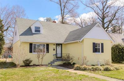 Richmond Single Family Home For Sale: 4813 Brook Road