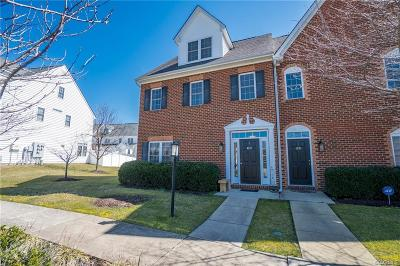 Henrico Condo/Townhouse For Sale: 3507 Bartley Pond Court