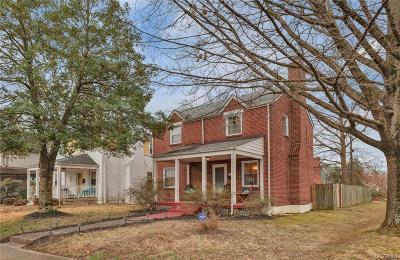 Richmond Single Family Home For Sale: 3910 Brook Road