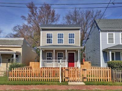Richmond Single Family Home For Sale: 2218 Fairmount Avenue