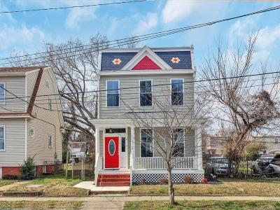 Richmond Single Family Home For Sale: 1118 N 34th Street
