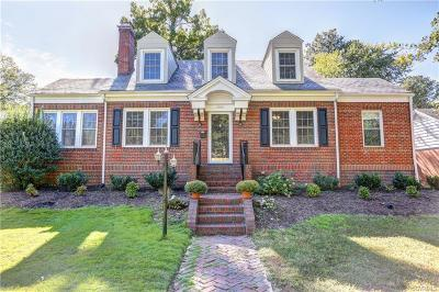 Richmond Single Family Home For Sale: 4905 Patterson Avenue