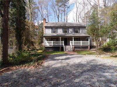 Chesterfield County Rental For Rent: 3704 Nuttree Woods Drive