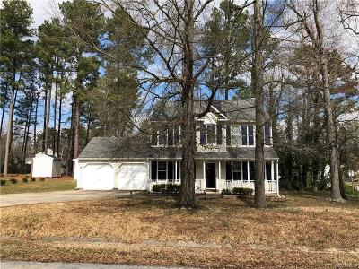 Colonial Heights Single Family Home For Sale: 18615 Rollingside Drive