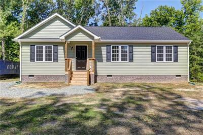 Louisa Single Family Home For Sale: 1382 School Bus Road