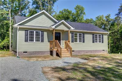 Goochland Single Family Home For Sale: 5067 River Road