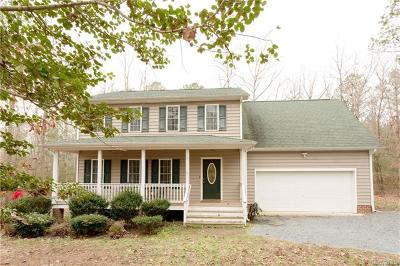 Petersburg Single Family Home For Sale: 9017 Hickory Road