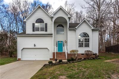 Single Family Home For Sale: 1707 Providence Creek Circle